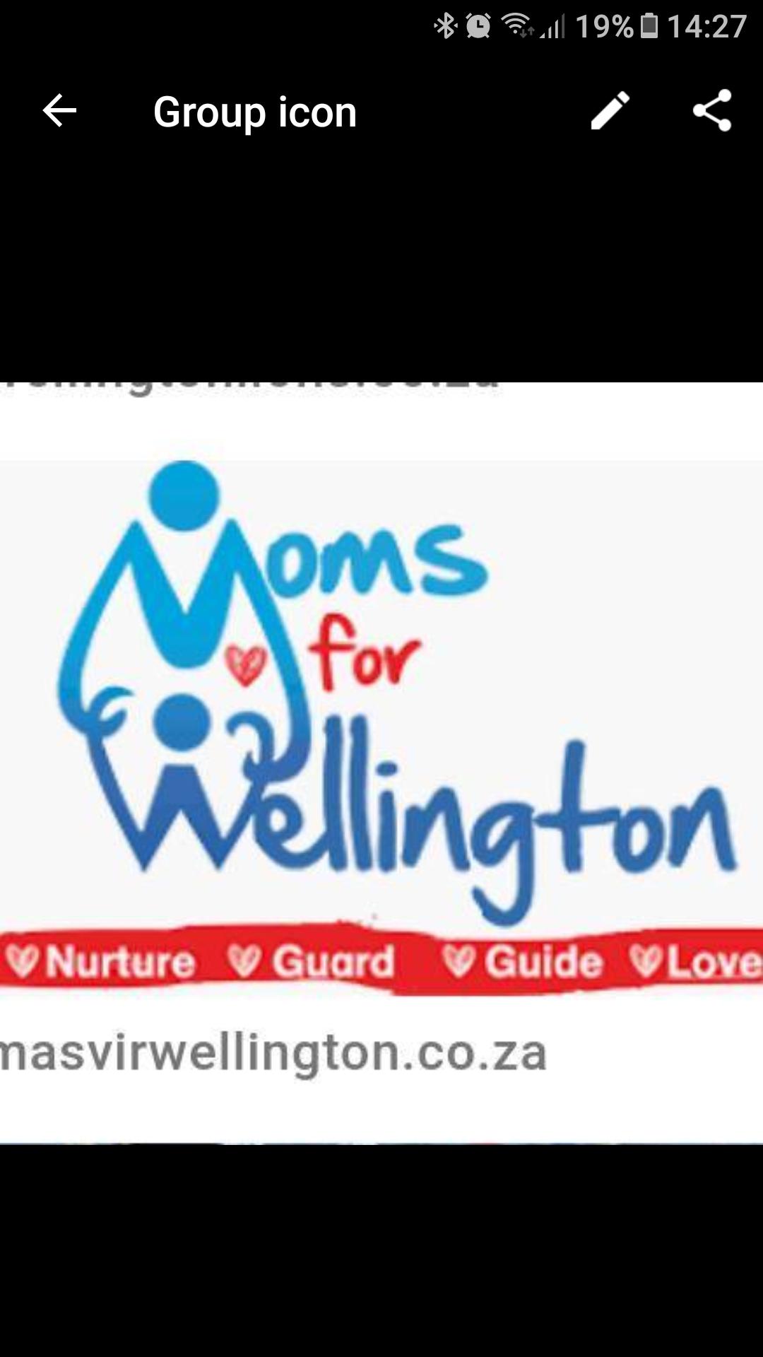 Ma's vir Wellington